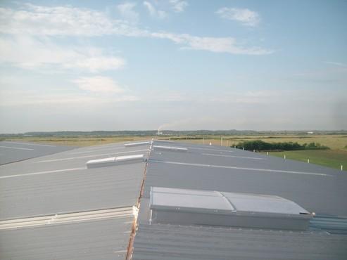 Lucrari, proiecte Luminatoare industriale - Depozit Eurorent - Timis HEXADOME - Poza 1