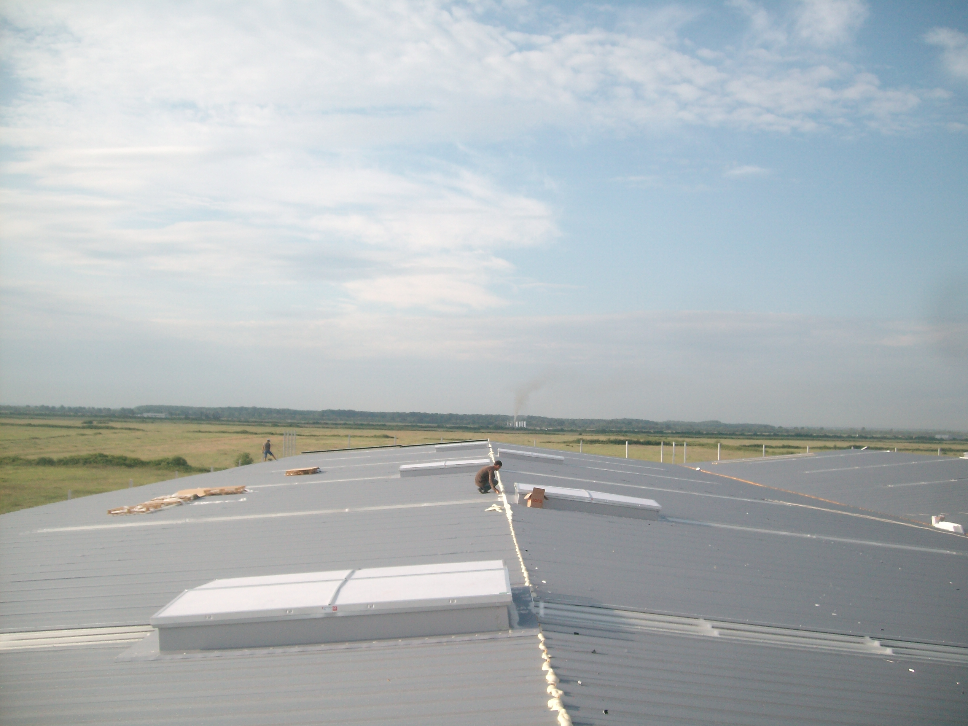 Luminatoare industriale - Depozit Eurorent - Timis HEXADOME - Poza 2