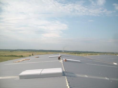 Lucrari, proiecte Luminatoare industriale - Depozit Eurorent - Timis HEXADOME - Poza 2