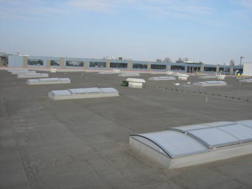 Lucrari, proiecte Luminatoare industriale - Spatiu comercial OBI - Policolor HEXADOME - Poza 1