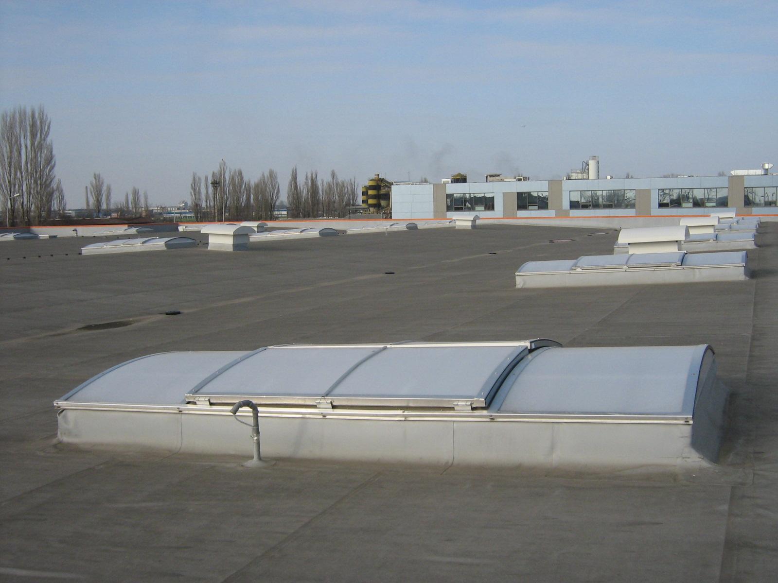 Luminatoare industriale - Spatiu comercial OBI - Policolor HEXADOME - Poza 3
