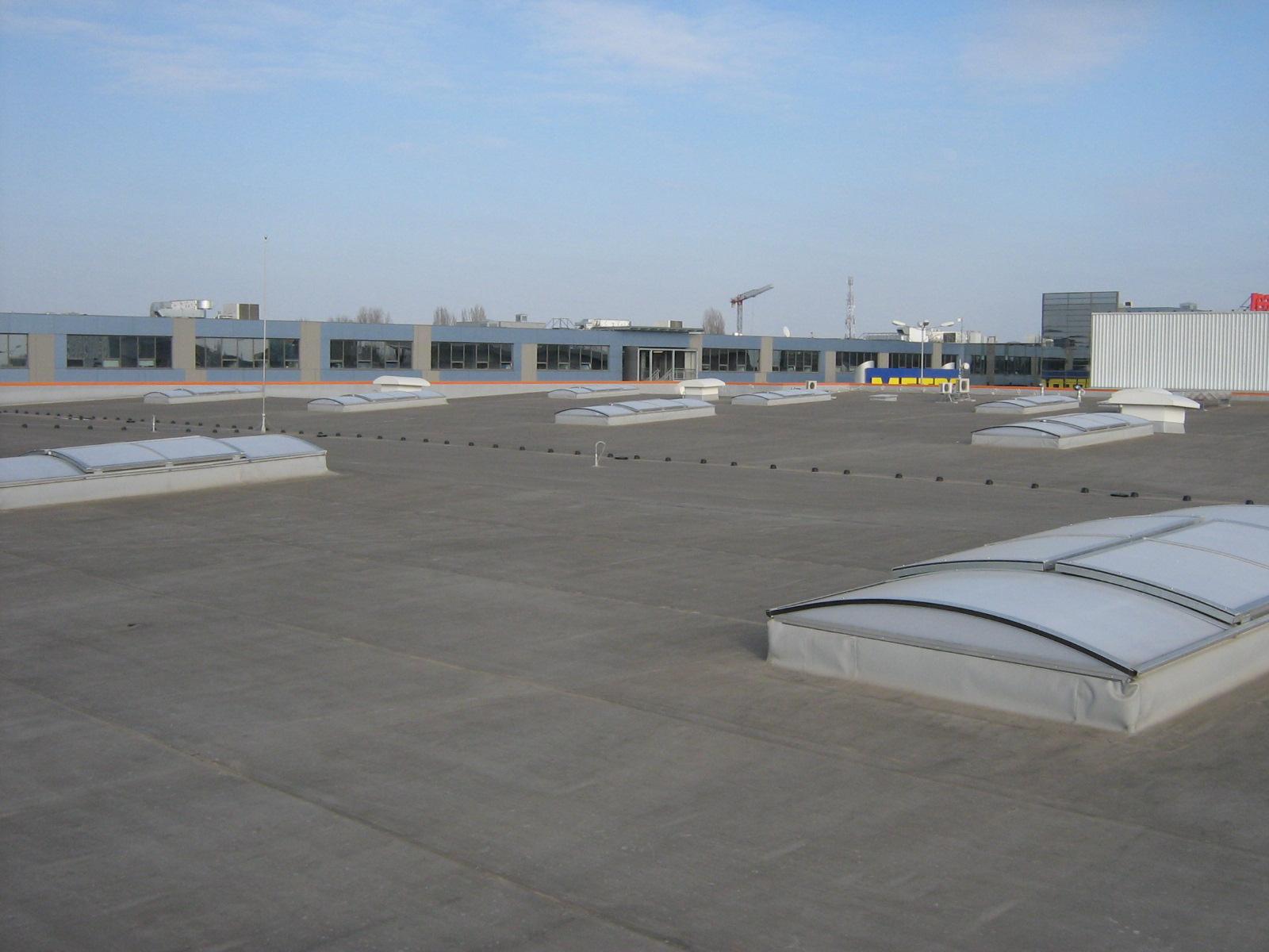 Luminatoare industriale - Spatiu comercial OBI - Policolor HEXADOME - Poza 4