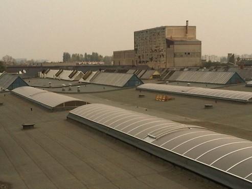 Luminatoare industriale - Spatiu de productie Assa Abloy HEXADOME - Poza 1