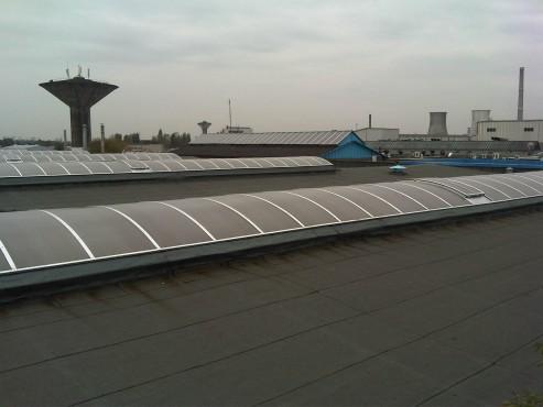 Luminatoare industriale - Spatiu de productie Assa Abloy HEXADOME - Poza 4