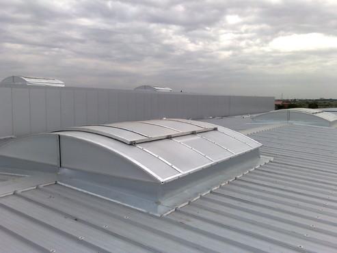 Lucrari, proiecte Luminatoare industriale - Farmexpert - Bucuresti HEXADOME - Poza 3