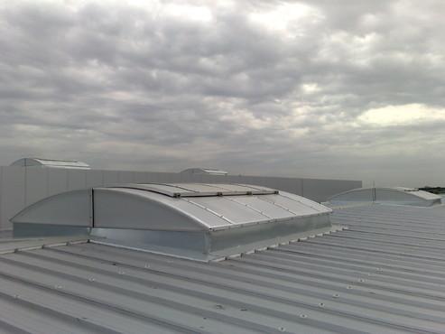 Lucrari, proiecte Luminatoare industriale - Farmexpert - Bucuresti HEXADOME - Poza 4