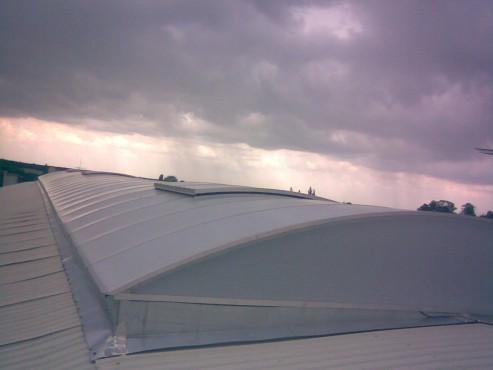 Lucrari, proiecte Luminatoare industriale - COR HEXADOME - Poza 2
