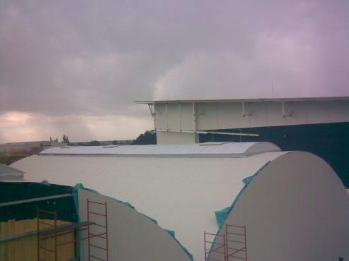 Lucrari, proiecte Luminatoare industriale - COR HEXADOME - Poza 3