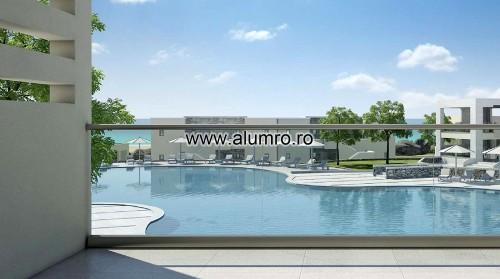 Balustrade moderne din sticla ALUMINCO - Poza 2