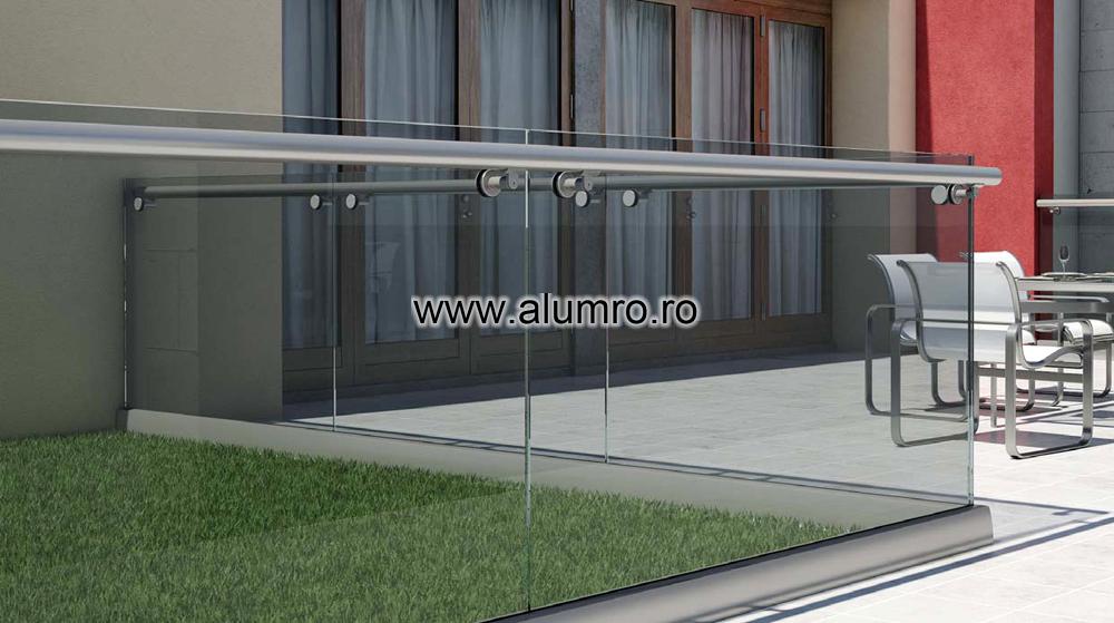 Balustrade moderne din sticla ALUMINCO - Poza 4