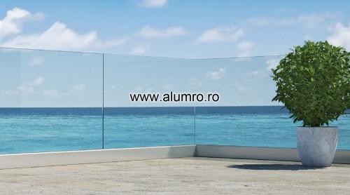 Balustrade moderne din sticla ALUMINCO - Poza 5