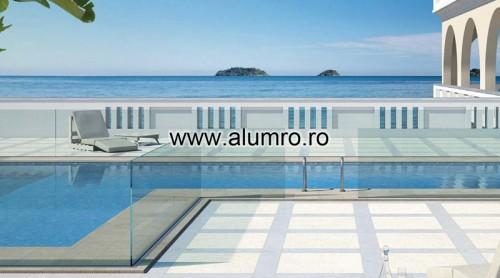 Balustrade moderne din sticla ALUMINCO - Poza 7