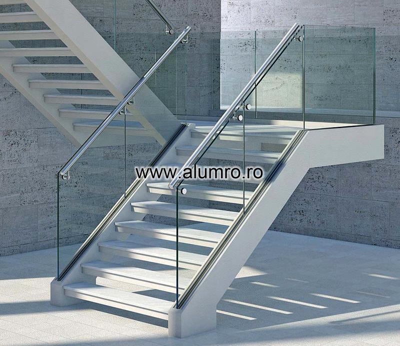 Balustrade moderne din sticla ALUMINCO - Poza 8