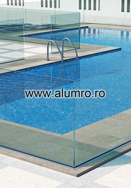 Balustrade moderne din sticla ALUMINCO - Poza 9