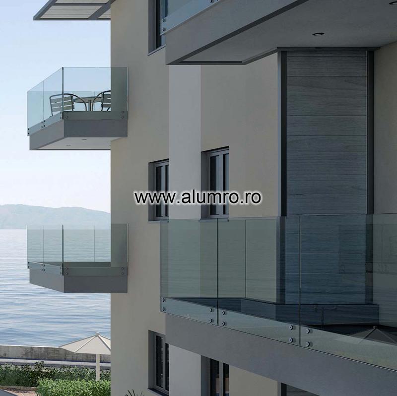 Balustrade moderne din sticla ALUMINCO - Poza 11
