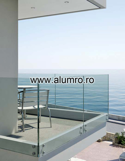 Balustrade moderne din sticla ALUMINCO - Poza 12