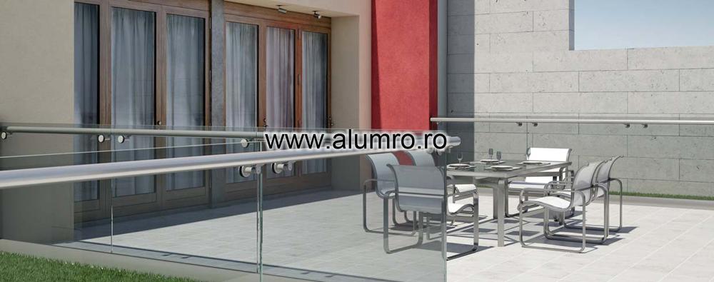 Balustrade moderne din sticla ALUMINCO - Poza 13