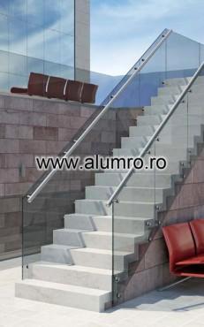 Balustrade moderne din sticla ALUMINCO - Poza 14