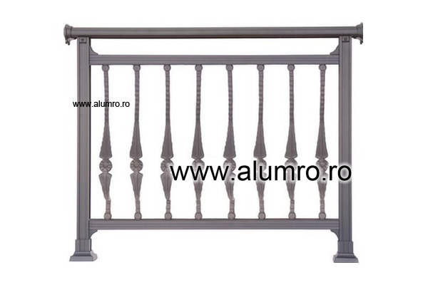 Balustrade clasice ALUMINCO - Poza 3