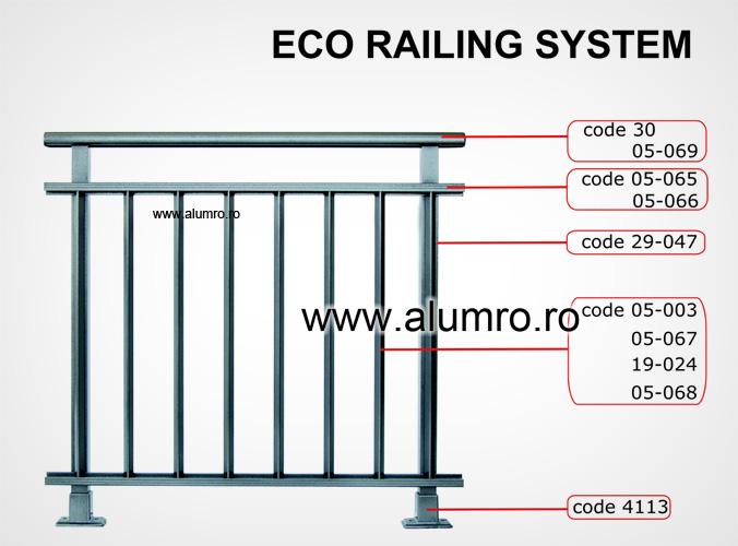 Balustrade clasice ALUMINCO - Poza 1