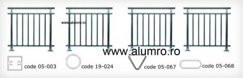 Balustrade clasice ALUMINCO - Poza 2