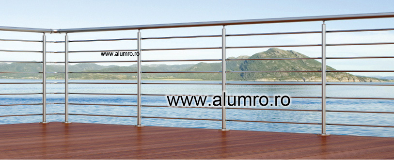 Balustrade moderne ALUMINCO - Poza 1