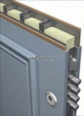 SECURITY DOOR DETAIL ALUMINCO - Poza 2