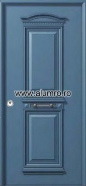 Usa de securitate din aluminiu - SP 3152 ALUMINCO - Poza 8
