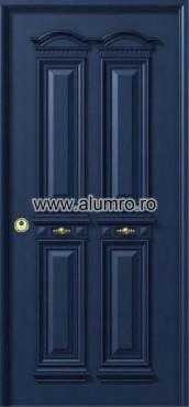 Usa de securitate din aluminiu - SP 3162 ALUMINCO - Poza 9