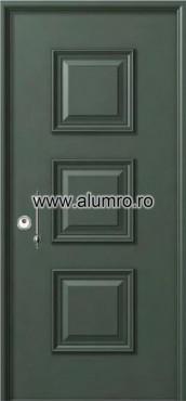 Usa de securitate din aluminiu - SP 3190 ALUMINCO - Poza 10