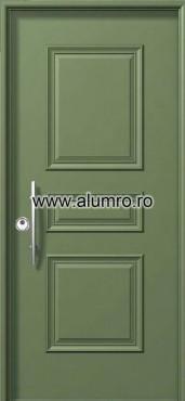 Usa de securitate din aluminiu - SP 3611 ALUMINCO - Poza 20