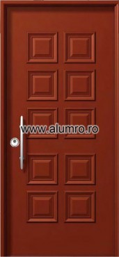 Usa de securitate din aluminiu - SP 3619 ALUMINCO - Poza 26