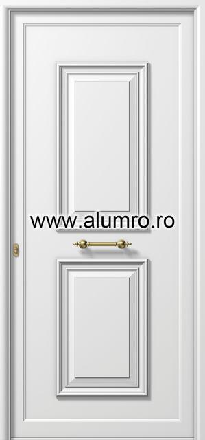 Usa din aluminiu pentru exterior - P103 ALUMINCO - Poza 3