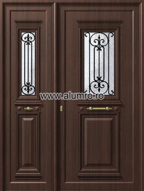 Usa din aluminiu pentru exterior - P105 - P100 ALUMINCO - Poza 4