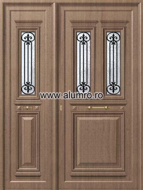 Usa din aluminiu pentru exterior - P105 - P136 ALUMINCO - Poza 6