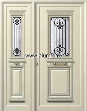 Usa din aluminiu pentru exterior - P105k - P100k ALUMINCO - Poza 7