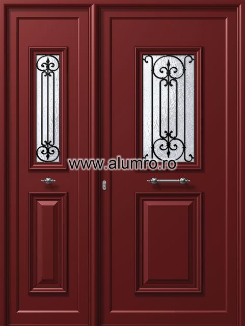 Usa din aluminiu pentru exterior - P106 - P101 ALUMINCO - Poza 8