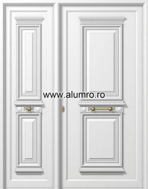 Usa din aluminiu pentru exterior - P107k - P102k ALUMINCO - Poza 10