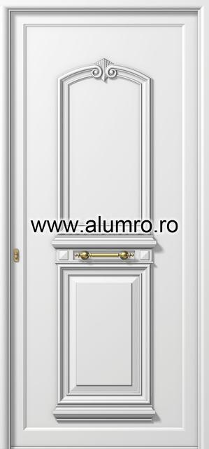 Usa din aluminiu pentru exterior - P112 ALUMINCO - Poza 12