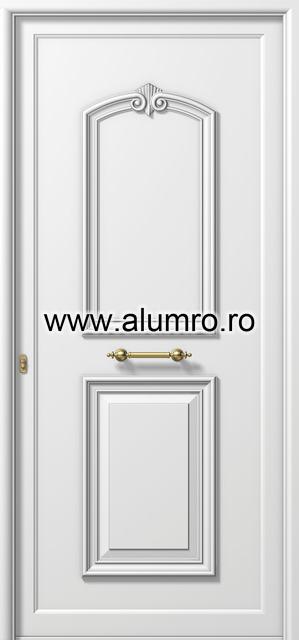 Usa din aluminiu pentru exterior - P113 ALUMINCO - Poza 13