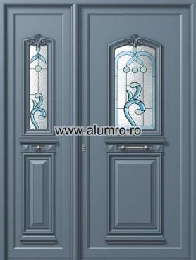 Usa din aluminiu pentru exterior - P115 - P110 vitroBblue ALUMINCO - Poza 15