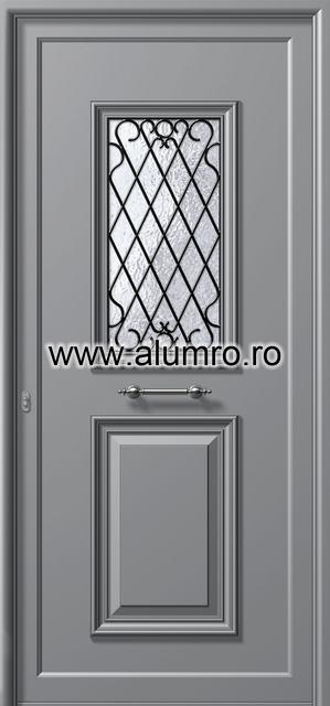 Usa din aluminiu pentru exterior - P121 ALUMINCO - Poza 18