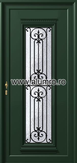 Usa din aluminiu pentru exterior - P124 ALUMINCO - Poza 19