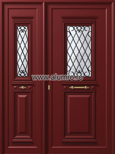 Usa din aluminiu pentru exterior - P125 - P120 ALUMINCO - Poza 20