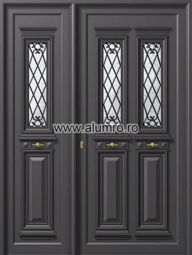 Usa din aluminiu pentru exterior - P125 - P150 ALUMINCO - Poza 21
