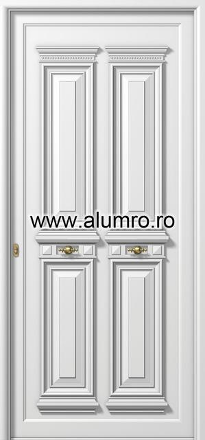 Usa din aluminiu pentru exterior - P132 ALUMINCO - Poza 23