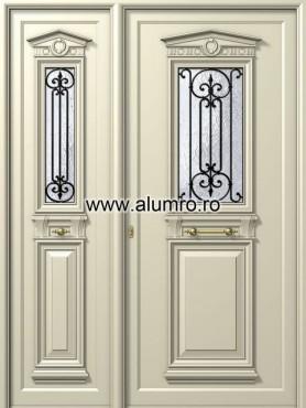 Usa din aluminiu pentru exterior - P138 - P168 ALUMINCO - Poza 25