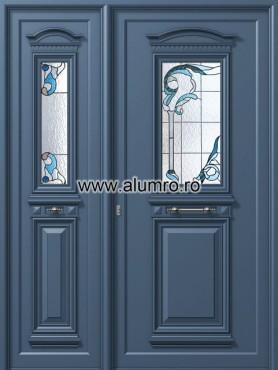 Usa din aluminiu pentru exterior - P153 - P154 vitroAblue ALUMINCO - Poza 31