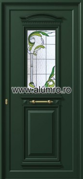 Usa din aluminiu pentru exterior - P154 vitroAgreen ALUMINCO - Poza 32