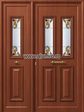 Usa din aluminiu pentru exterior - P159 - P156 vitroAbrown ALUMINCO - Poza 34
